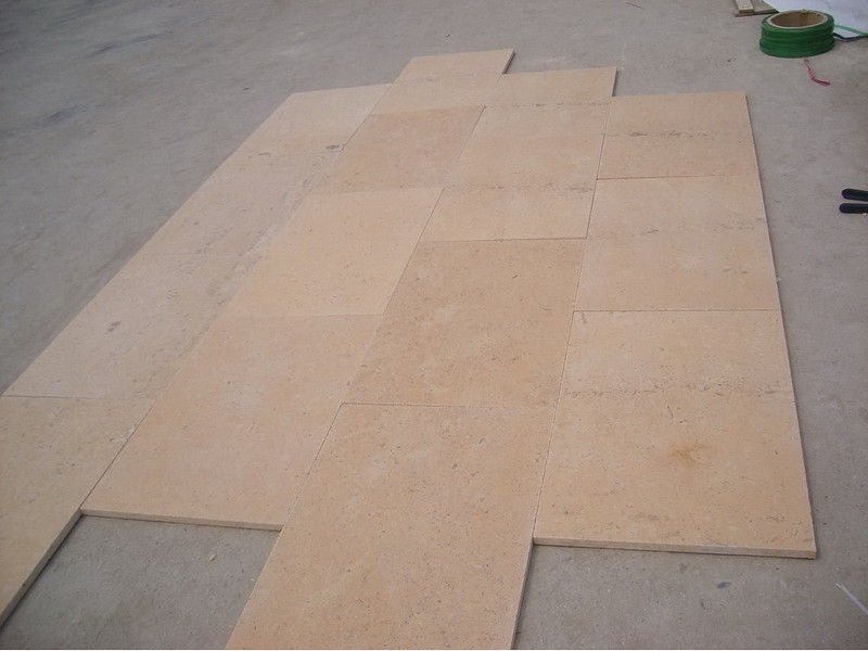 Jura Beige Brushed Tile